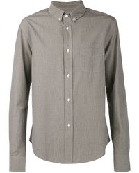Band Of Outsiders Pincheck Shirt - Lyst