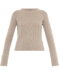 The Row Felicity Wool And Cashmere-Blend Sweater - Lyst