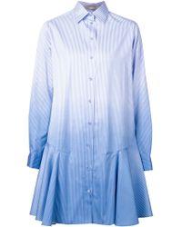 Vanessa Bruno Gradient Effect Shirt Dress - Lyst