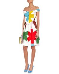 Vivienne Westwood Anglomania Saturday Asterisk-Print Cotton Dress - Lyst