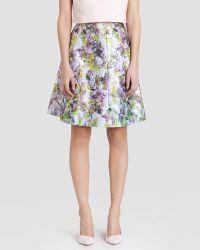 Ted Baker Skirt - Goldina Window Blossom - Lyst