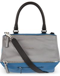 Givenchy Pandora Tricolour Satchel Bag - Lyst