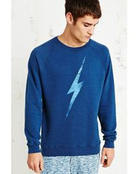 Lightning Bolt Big Bolt Triblend Sweatshirt - Lyst