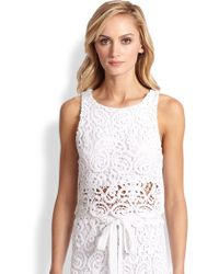Miguelina Rosi Palermo Lace Top - Lyst