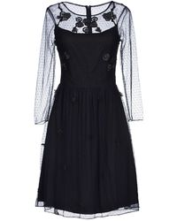 Alice By Temperley Blue Short Dress - Lyst