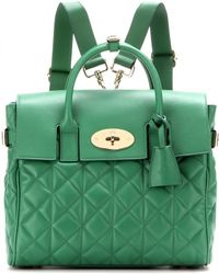 Mulberry - Cara Delevingne Leather Bag - Lyst