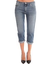 Acne Studios Pop Jean gray - Lyst
