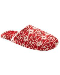 Gap Printed Fur-lined Slippers - Lyst