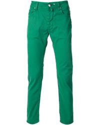 Jacob Cohen Slim Fit Jeans - Lyst