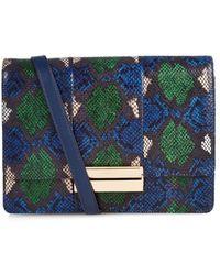 See By Chloé Kristen Python-Print Leather Shoulder Bag - Lyst