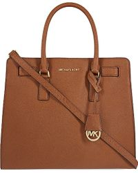 MICHAEL Michael Kors Dillon Large Saffiano Leather Tote - For Women - Lyst