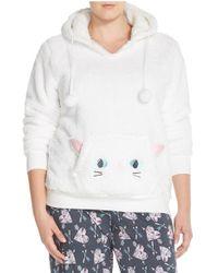 Cozy Zoe - Hooded Sweatshirt - Lyst