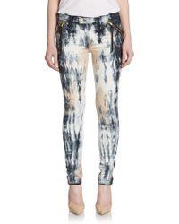 Mcguire - Margaux Tie-dye Skinny Jeans - Lyst