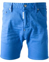 DSquared² Denim Shorts - Lyst