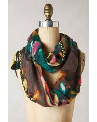 Anthropologie Morning Glory Scarf - Lyst