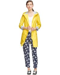 Brooks Brothers Long Raincoat - Lyst