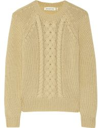 Etoile Isabel Marant Delta Cable Knit Wool Sweater - Lyst