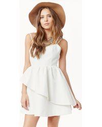 Keepsake Last Stand Dress white - Lyst