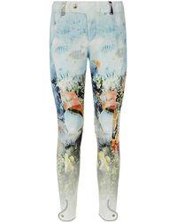 Bogner Sophia Underwater Print Trousers - Lyst