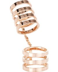 Repossi - Berbere Cage Ring-Colorless - Lyst