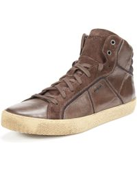 Geox Smart Hi-top Sneakers - Lyst