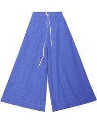 Flow Ultra Wide Leg Trousers - Lyst