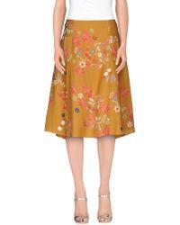 Siyu | 3/4 Length Skirt | Lyst