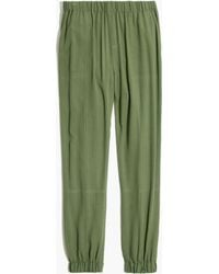 Madewell Pull-On Track Pants In Palm Tree - Lyst