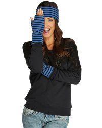 Threads For Thought - Fingerless Glove Stripe - Lyst