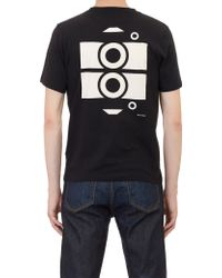 Saturdays Surf Nyc Black Camera T-shirt - Lyst