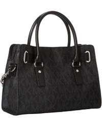 MICHAEL Michael Kors Hamilton East/West Satchel - Lyst