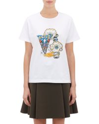 Mary Katrantzou Embellished T-Shirt - Lyst