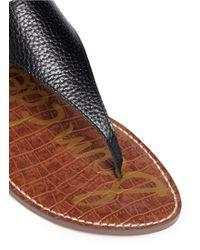 Sam Edelman | 'greta' Ring Stud Leather Sandals | Lyst