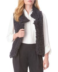 Sam Edelman - Camerson Fitted Vest - Lyst