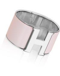 Hermes Pink Clic H - Lyst