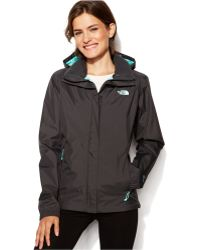 The North Face Resolve Zip-Up Waterproof black - Lyst