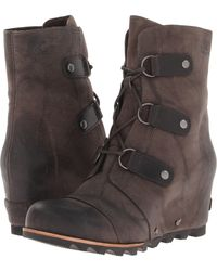 Sorel Joan Of Arctic Wedge Mid - Lyst