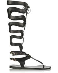 Ancient Greek Sandals - Kori Lace-Up Leather Gladiator Sandals - Lyst