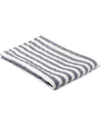Frescobol Carioca Striped Linen Beach Towel - Lyst