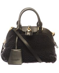 Burberry Prorsum | Shearling Tote | Lyst