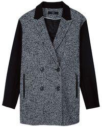 Tibi Bosworth Tweed Coat - Lyst