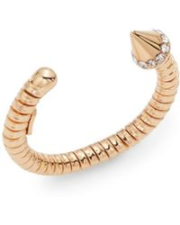 Vita Fede Zoe Titan Crystal Ring/Rose Goldtone - Lyst