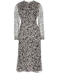 Burberry Brit Tabatha Silk Chiffon Dress - Lyst