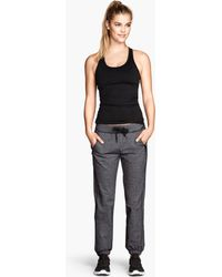 H&M Sports Trousers - Lyst