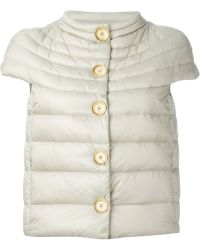 Fay Short Sleeve Quilted Jacket - Lyst