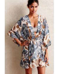 Eloise | Garden Sketch Robe | Lyst