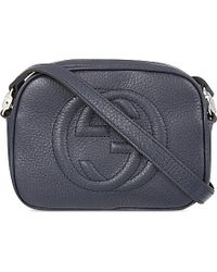 Gucci Leather Logo Cross-Body Bag - For Women - Lyst
