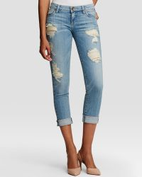 Kut From The Kloth - Catherine Distressed Boyfriend Jeans In New Vintage Base Wash - Lyst