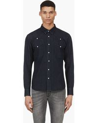Surface To Air Indigo Blue V1 Bob Shirt - Lyst