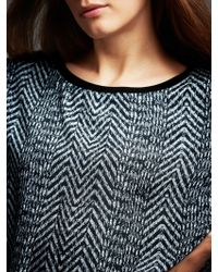 SuperTrash - Woven Fee Print Sweatshirt - Lyst